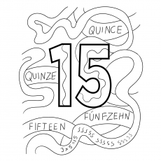 Top 21 Free Printable Number Coloring Pages Online