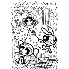 Top 15 Free Printable Powerpuff Girls Coloring Pages Online