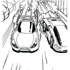 hot wheel coloring pages # 20