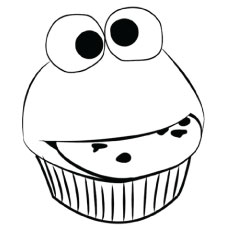 cupcakes coloring pages # 11