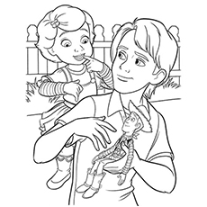 Top 20 Free Printable Toy Story Coloring Pages Online