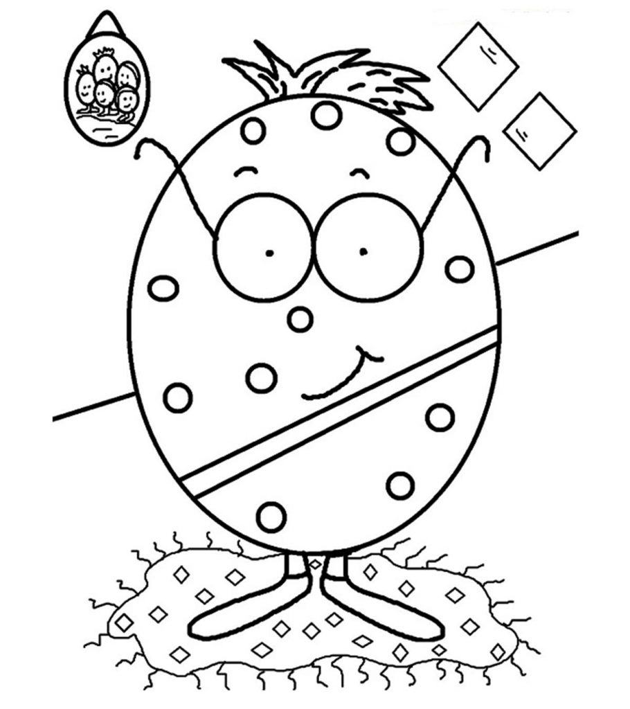 Top 10 Free Printable Lovely Egg Coloring Pages Online