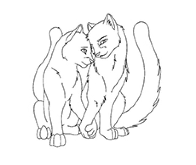 Top  Free Printable Warrior Cats Coloring Pages Online