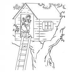Halaman pohon rumah pohon
