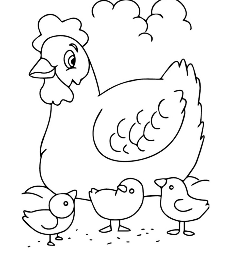 Top 10 Free Printable Farm Animals Coloring Pages Online | free printable colouring pages farm animals