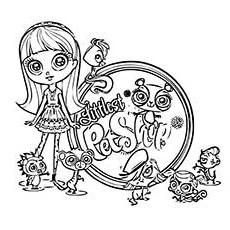 littlest pet shop coloring page # 27