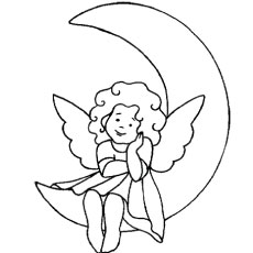 Top 10 Free Printable Moon Coloring Pages Online