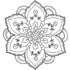 abstract coloring page # 11