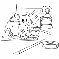 Top 25 Free Printable Colorful Cars Coloring Pages Online