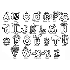 Top 10 Free Printable ABC Coloring Pages Online