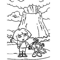 Volcano: Volcano Template Printable