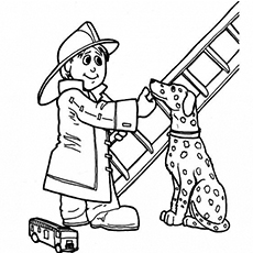 Fire Engine Coloring Pages, Fire, Free Engine Image For