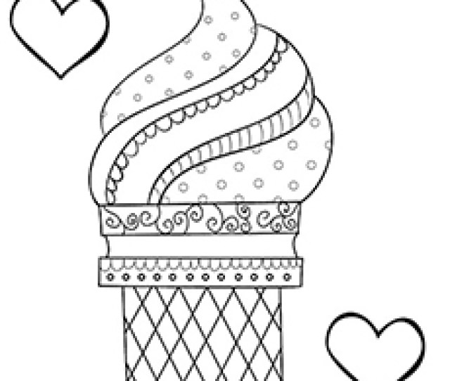 Top  Free Printable Ice Cream Coloring Pages Online