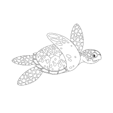 Top 10 Free Printable Cute Sea Turtle Coloring Pages Online