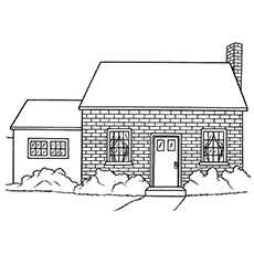coloring pages of houses # 2