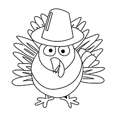 coloring page turkey # 15