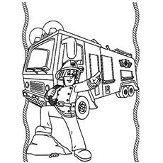 Fire Engine Truck To Color Mail Truck Engine Wiring