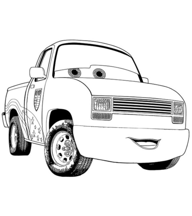 Top 10 Free Printable Colorful Cars Coloring Pages Online