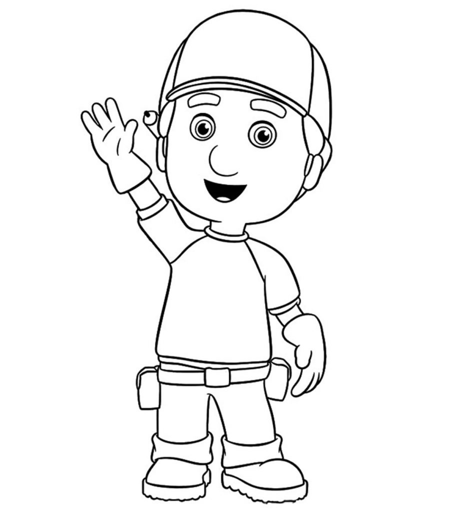 Top 25 Free Printable Handy Manny Coloring Pages Online