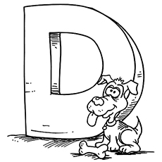 Top 10 Free Printable Letter D Coloring Pages Online