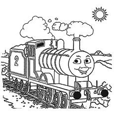 train coloring # 41