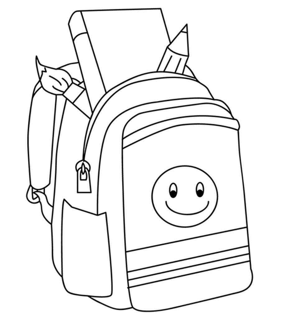 Top 20 Free Printable Back To School Coloring Pages Online