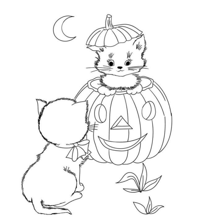 22 Amazing Disney Halloween Coloring Pages For Your Little Ones