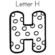 Top 25 Free Printable Letter H Coloring Pages Online