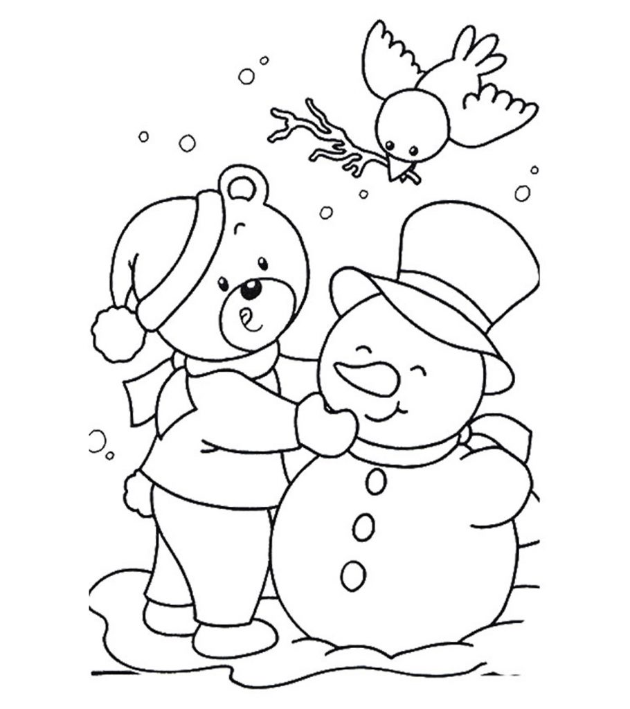 Free Printable January Coloring Pages for Kids Online   free coloring pages for toddlers