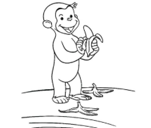 Top  Free Printable Monkey Coloring Pages For Kids