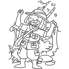Top 10 Free Printable Wildlife Hunting Coloring Pages Online