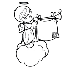 angels coloring pages # 2