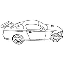 Race Car Coloring Pictures