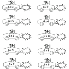 Top 10 Free Printable Multiplication Coloring Sheets Online