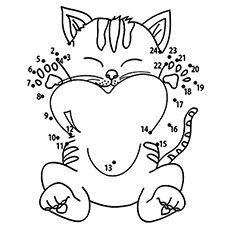 coloring pages kittens # 30