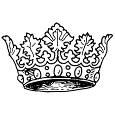 crown coloring pages # 1