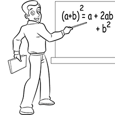 Mail Carrier Coloring Page Teaching stuff Worksheets t
