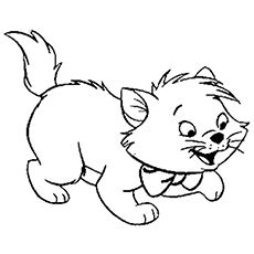 Top 15 Free Printable Kitten Coloring Pages Online