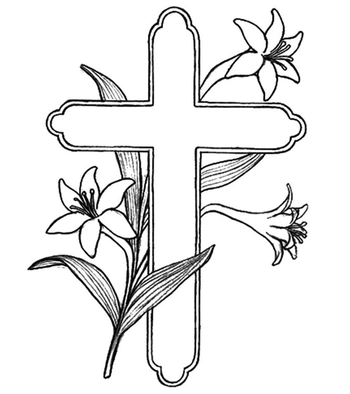 30 Parts Of The Mass Coloring Pages