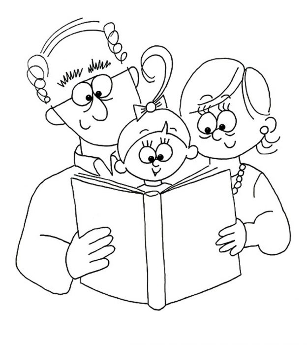 Top 10 Grandparents Day Coloring Pages For Your Little Ones