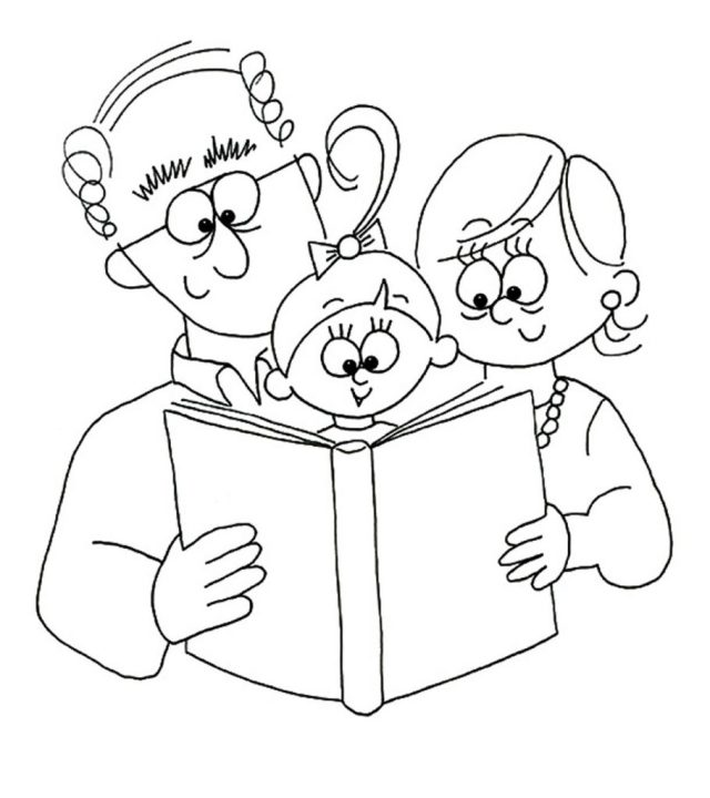 Top 27 Grandparents Day Coloring Pages For Your Little Ones