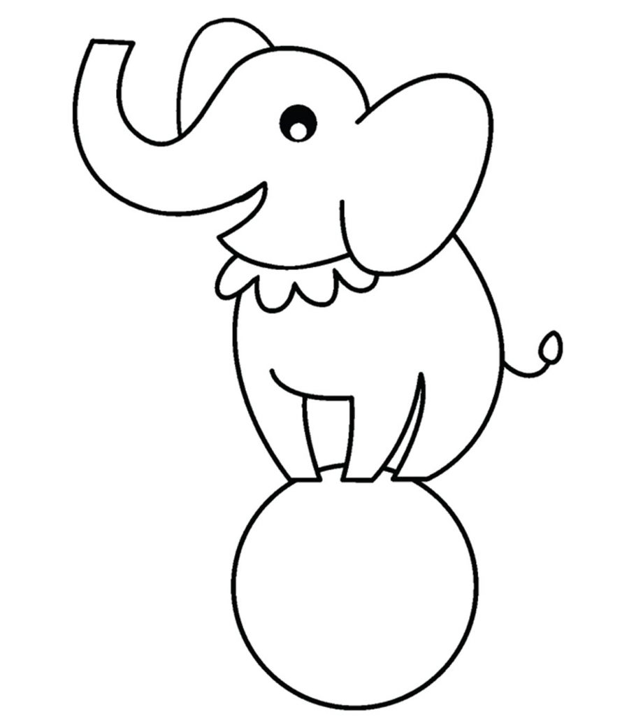 Top 25 Free Printable Preschool Coloring Pages Online