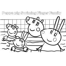 Top 35 Free Printable Peppa Pig Coloring Pages Online