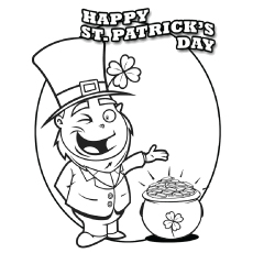 Top 25 Free Printable St. Patrick's Day Coloring Pages Online