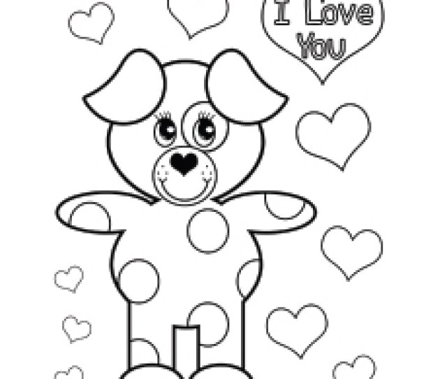 Top  Free Printable Valentines Day Coloring Pages Online
