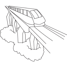 ᓂTop 26 Free Printable Train ๏ Coloring Coloring Pages