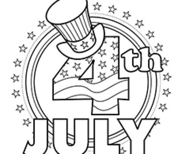 Top  Free Printable Th Of July Coloring Pages Online