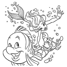 Top 10 Free Printable Swimming Coloring Pages Online