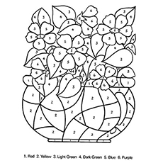 coloring pages flower # 21