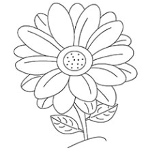 Printable Coloring Pages Flowers